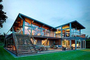 Для частных деревянных домов, дач и бань